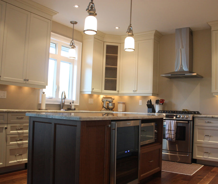 Custom kitchen cabinets by the mills group barrie on for Kitchen cabinets barrie